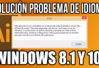 Como solucionar problema de idioma ADOBE ILLUSTRATOR Windows 8 y Windows 10