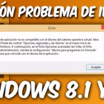 Como solucionar problema de idioma de Adobe illustrator CS6 en windows 8.1 y windows 10