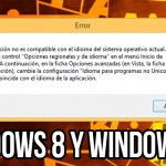 Solución ERROR problema de idioma de Adobe illustrator CS6 Windows 8 y 10