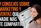 como vender mas, consejos de marketing y ventas
